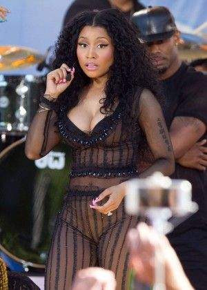 Nicki Minaj: Good Morning America Summer Concert Series -01 - GotCeleb