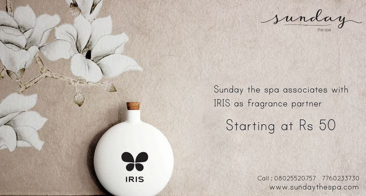 Choose a fragrance that reflects your personality and the season We have the entire range to pep up your mood right from soothing sandalwood to zesty Apple and Cinnamon. Entire range now available at Sunday The Spa. Call: 7353572200 #sundaythespa #spa #fragrance #iris #luxury #aroma #fragrancepartner