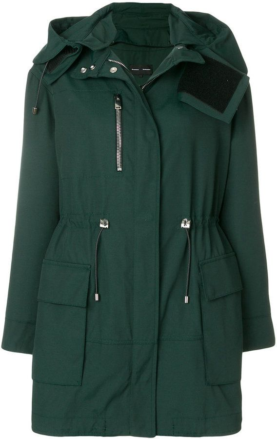 Proenza Schouler fitted parka coat