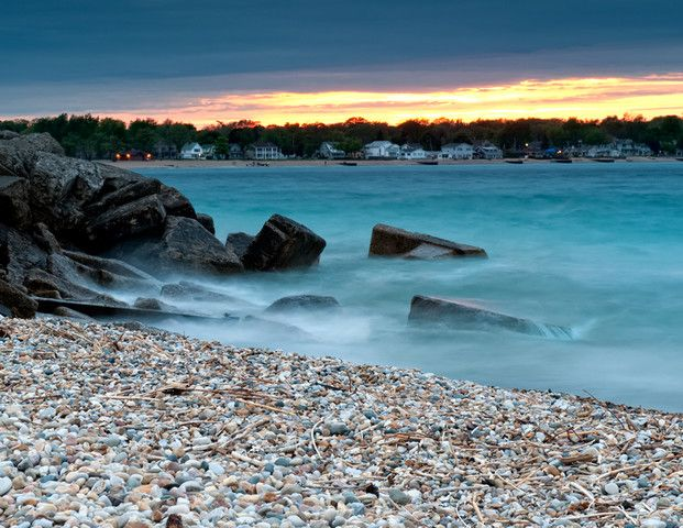 Lake Huron...a beautiful peaceful place where our family cabin is located!