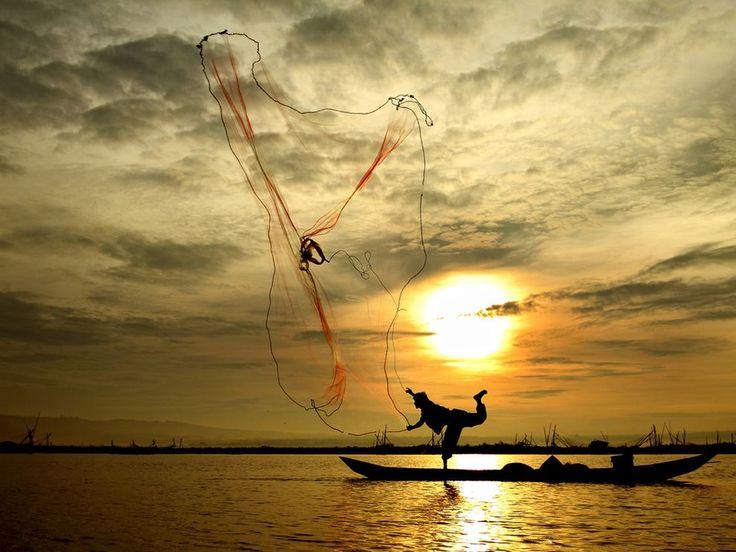 Fisherman do for his life....