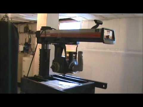 Restoring a Radial Arm Saw #1