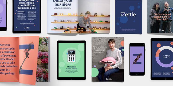 iZettle lanserar ny visuell identitet - Resumé