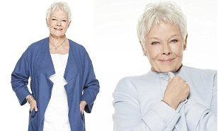 Dame Judi Dench, 80, talks tattoos, remarrying and retirement #DailyMail