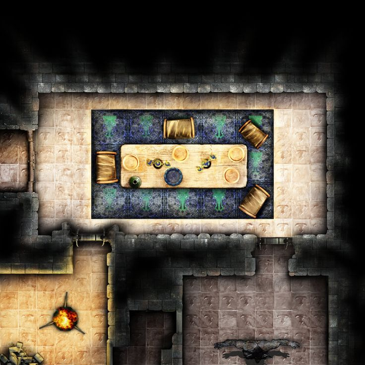 RPG Battlemap Sets: A Collection Of Art Ideas To Try