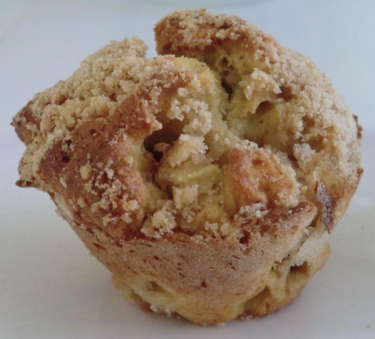 Ma petite cuisine gourmande sans gluten ni lactose: Muffins au crumble pommes-cranberries-raisins secs sans gluten et sans lactose