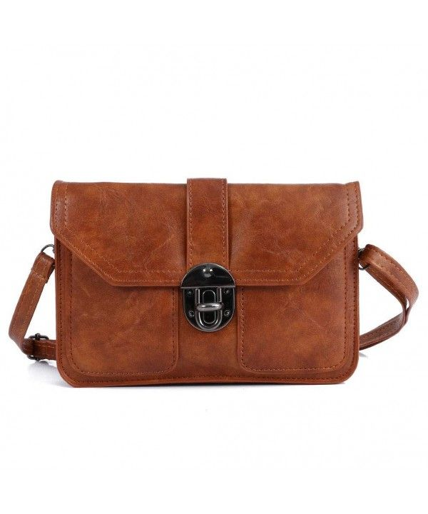 85395967c8c0 Womens Leather Small Crossbody Bags Cell Phone Wallet Purse Bag for ...