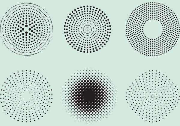 9 Halftone Patterns Free Psd Png Vector Eps Format Download Halftone Pattern Dot Pattern Vector Vector Art Design