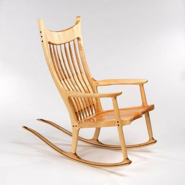 Love this rocking chair.  Most comfortable I've ever sat in.  Expensive but worth the price.  I want one!