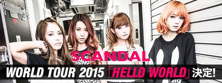 SCANDAL スキャンダル se presentará por primera vez en México!!! Gran noticia para los fans de esta banda, por fin se presentaran en nuestro país! SCANDAL スキャンダル es una banda de chicas de pop-rock japonés que proviene de Osaka, Japón. Fue formada en agosto del 2006 por 4 chicas de secundaria. Empezaron a tocar en vivo en las calles hasta que firmaron con la compañía indie Kitty Records.