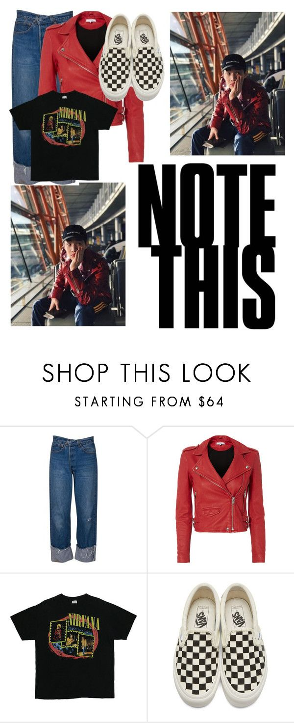 """""""henry lau"""" by kbgtn ❤ liked on Polyvore featuring IRO and Vans"""