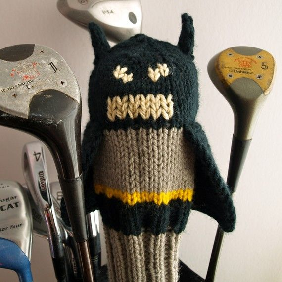 Batman Golf Club Cover