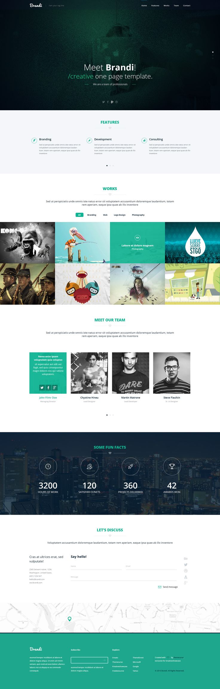 Freebie – Brandi  Design a Better Tomorrow. http://www.nevernorth.com #webdesign, #freelance, #graphic design
