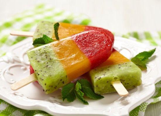 рецепты фруктового льда