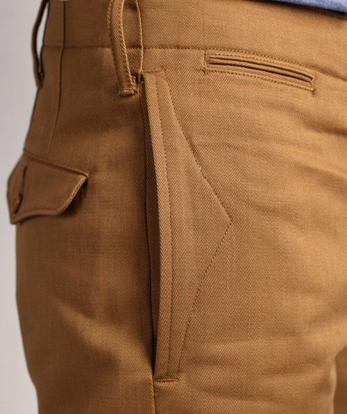 RЯL: Officer's Chino Details