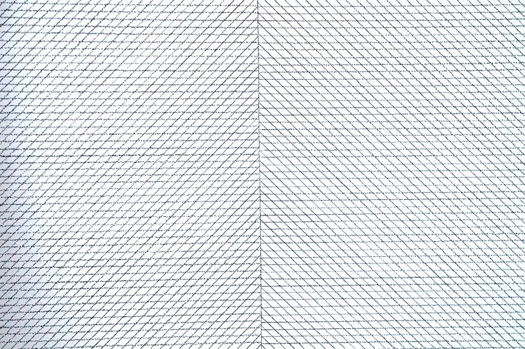 """Wall Drawing #47"" Sol Lewitt. Colección Museo Reina Sofía #Madrid. #Arte #Art #ContemporaryArt #ArteContemporáneo #Minimalismo #Arterecord 2015 https://twitter.com/arterecord"