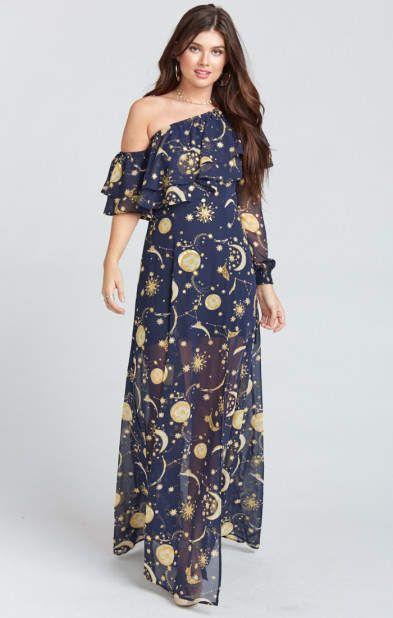 f44c6dfcd0d1 Emma Ruffle Maxi Dress ~ City of Stars | Dress | Black floral maxi ...