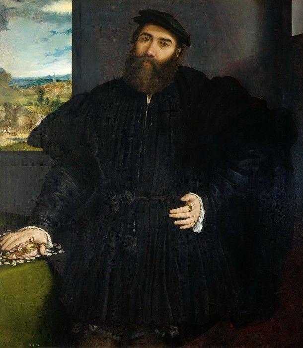 Мужской портрет. Лоренцо Лотто