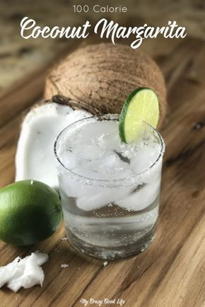This low cal Coconut Margarita uses just a few ingredients and can take you to the beach... at least mentally. This is one of my favorite LeCroix cocktails... a LeCroix margarita! 21 Dai Fix friendly