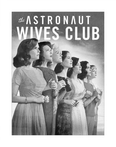 Astronaut Wives Club The poster Metal Sign Wall Art 8in x 12in Black and White