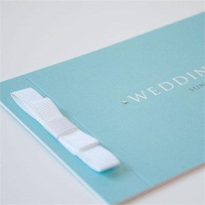 Tiffany Wedding Stationery - Jellypress on hitched.co.uk