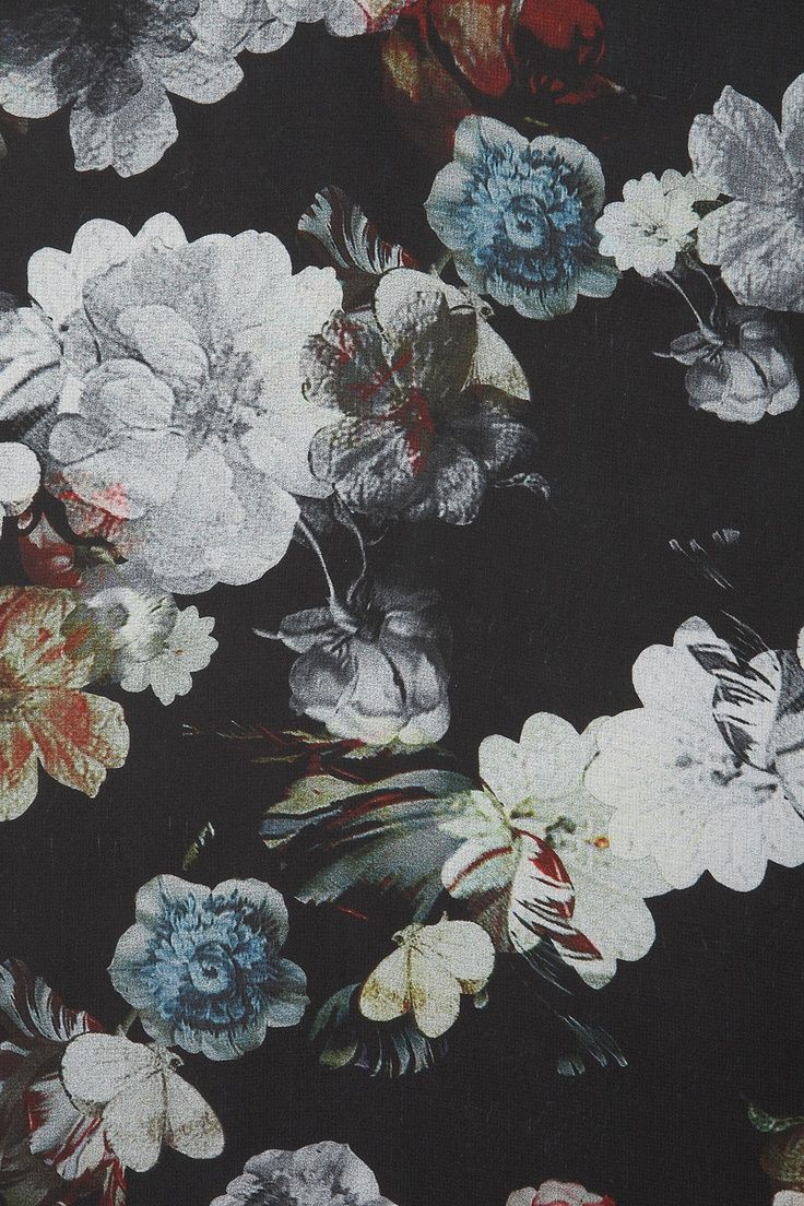 1000 images about floral on pinterest poppies black for Wallpaper prints patterns