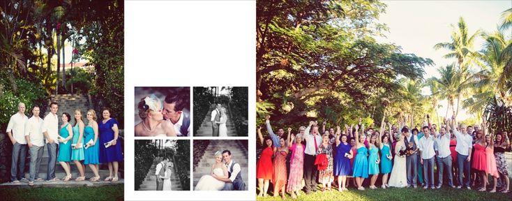 Fiji Resort Wedding by Finau Photography // Align Album Design -- Wedding Album Design for Professional Photographers
