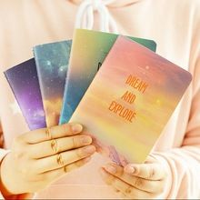 140*105MM/Fantastic Galaxy Star Sky A6 Notebook/Diary Book Exercise Composition…