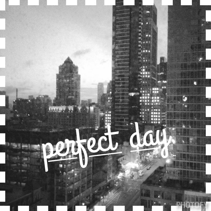NY perfect day