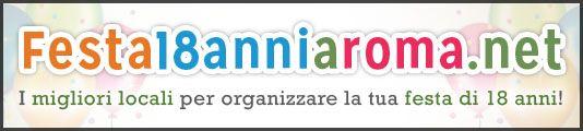 Sito web dedicato all'organizzazione di feste di 18 anni a Roma. Visita il sito e scegli il locale che fa per te!