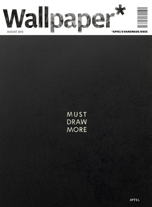 Wallpaper: Design Magazines, Magazines Design, Black Wallpapers, Wallpapers Magazines, Graphics Design, Covers Design, Graphics Editorial Layout, Magazines Covers, Wallpapers Covers