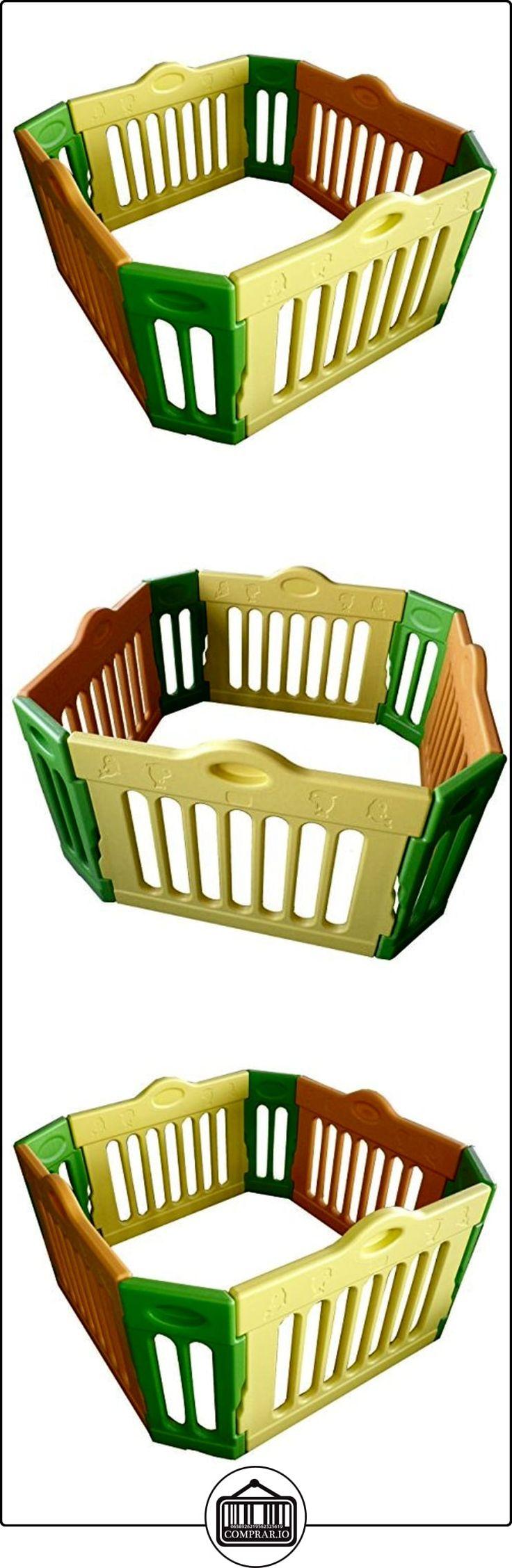 Baby Vivo - Parque infantil rectangular (4 esquinas, paquete principal)  ✿ Seguridad para tu bebé - (Protege a tus hijos) ✿ ▬► Ver oferta: http://comprar.io/goto/B005LUS740