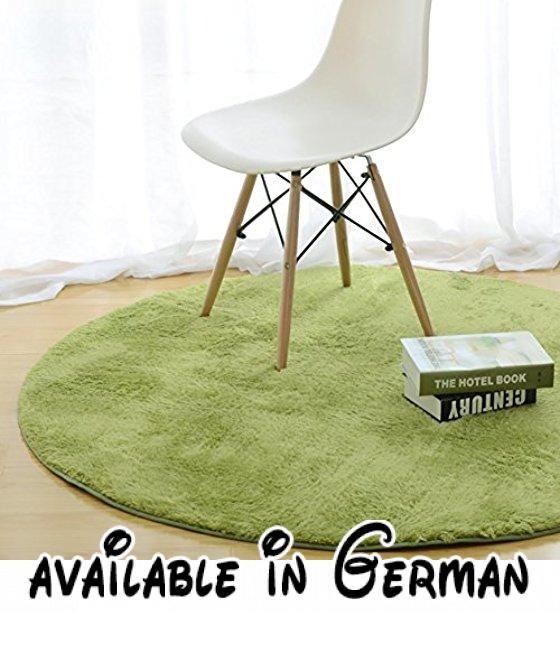 Einfarbig Teppich Wohnzimmer Footcloth Study Room Stuhl Bodenmatte