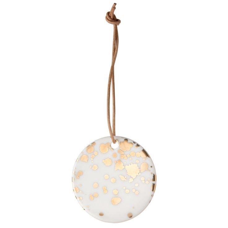 Porcelain Gold Splash ornament i gruppen Inredningsdetaljer / Dekoration / Juldekoration hos RUM21.se (129173)