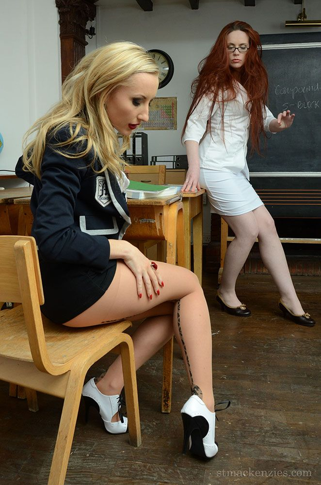 Lesbian Teacher Hot For Sexy Schoolgirl  Hot Teachers -7939