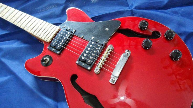 Alexandre Cesar - Luthier -: 81-Guitarra Golden - Super Geral