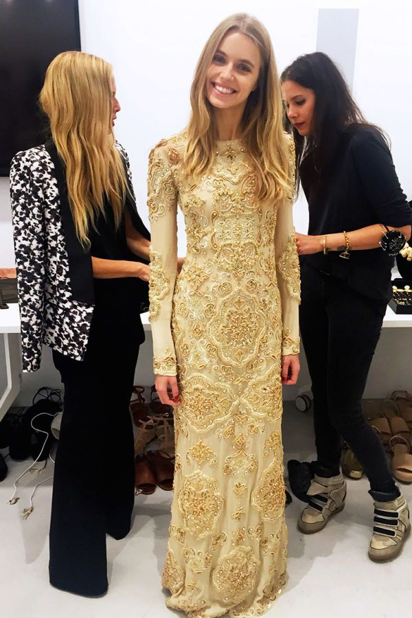 Behind The Scenes At Rachel Zoe's Spring 2016 Presentation