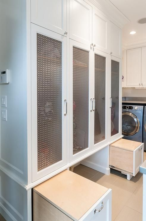 100 ideas to try about laundry rooms mudrooms washer for Entryway lockers with doors
