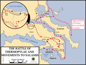 Battle of Thermopylae and movements to Salamis, 480 BC.gif