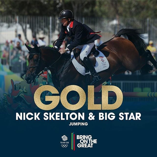 Team GB's FIRST EVER #GOLD in the #EquestrianJumping individual! A faultless…