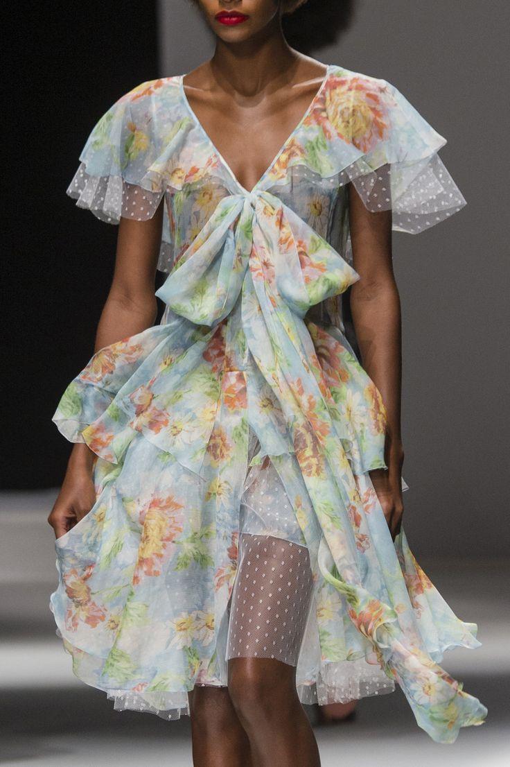 Blumarine at Milan Fashion Week Spring 2018