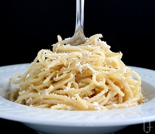Old Spaghetti Factory Brown Butter and Mizithra Cheese Spaghetti