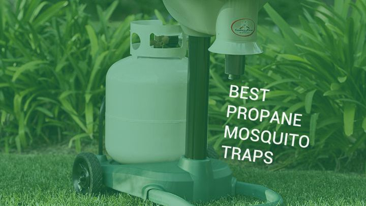 These best propane mosquito traps like the Mosquito Magnet and Skeetervac mosquito catchers are excellent for backyard and around the house protection.