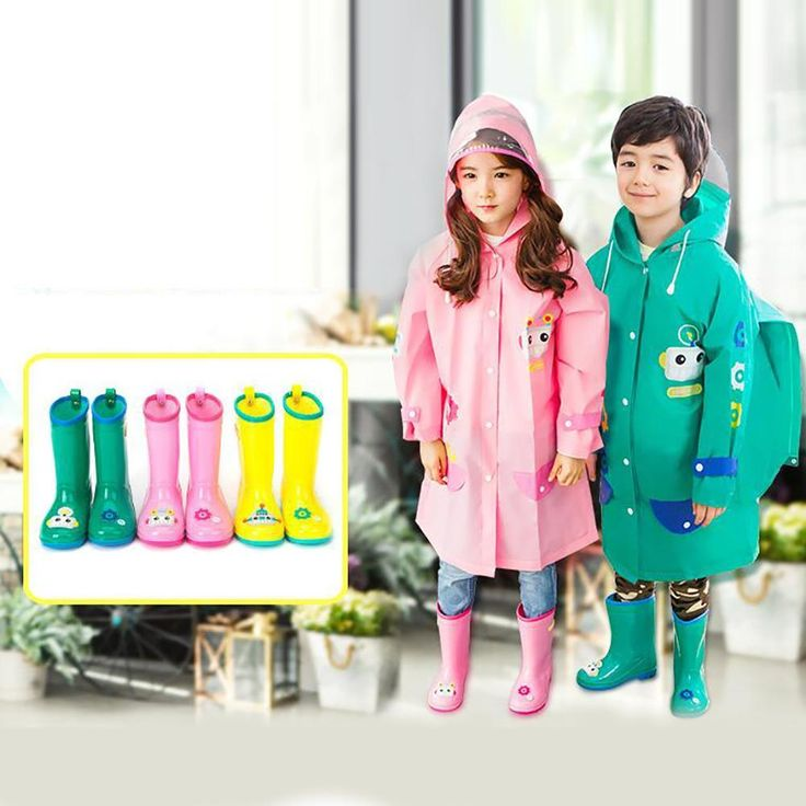 ==> [Free Shipping] Buy Best Children Rain Boots Winter Baby Boys Girls Boots shoes Children Rubber Rain Boots Green Yellow Pink can choice 35 Online with LOWEST Price | 32730553465