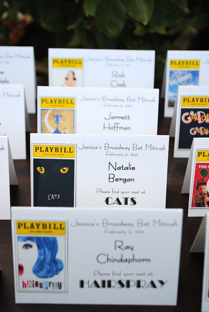 Jac o' lyn Murphy: Bills, Bills, Bills- PLAYBILLS! A Broadway Bat Mitzvah
