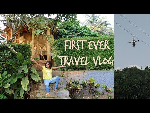 Vlog | Roadtrip India - When Girl Go on a Roadtrip to Wayanad, Kerala, it is the best. This is my first ever travel vlog and is about the Wayanad road trip. It was a fun trip wherein I did kayaking, zip lining and other fun activities in this adventurous road trip. The road trip by car was the best to take as a summer roadtrip/getaway. I stayed in a best resort/ homestay in Wayanad, Kerala. Resort name is Misty Hills, Wayanad.