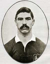 Paul Roos, Springbok captain, of the first South African touring rugby team to the British Isles in 1906. This Day in History: Mar 27, 1871: The first international Rugby football game http://dingeengoete.blogspot.com/