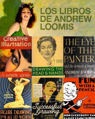 Esta vez dedicamos la entrada a los libros didácticos en PDF libres de derechos del maestro del dibujo Andrew Loomis para aprender a ilustrar.