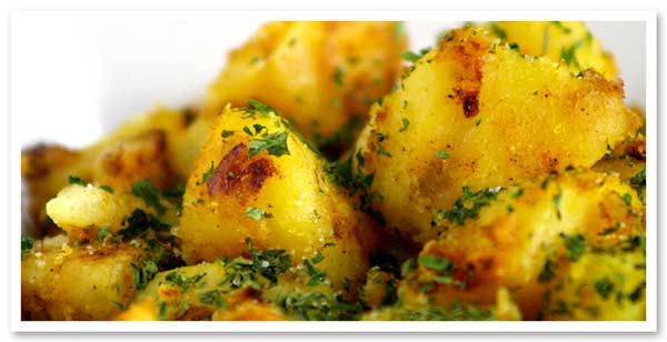 Spicy Indian Potatoes | favorite recipes | Pinterest