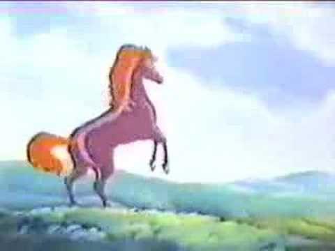 Cavalo de Fogo - Abertura  Um dos meus desenhos favoritos! Boas lembranças!